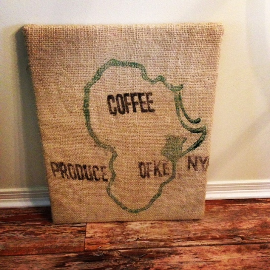 Kenya Coffee Sack - Steampunk Coffee Roasters, Natchez