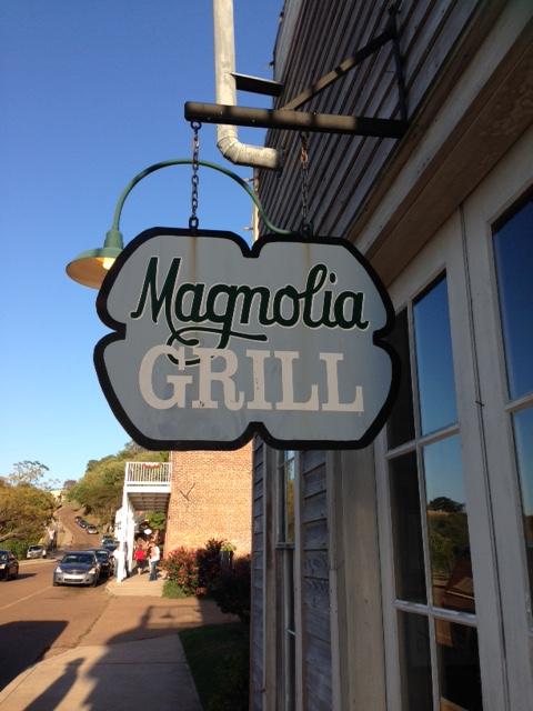 Magnolia Grill Sign