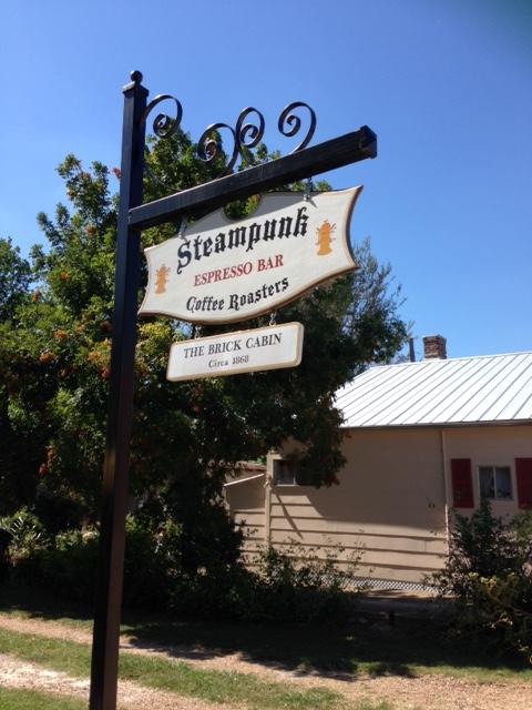 Steampunk Coffee Roaster