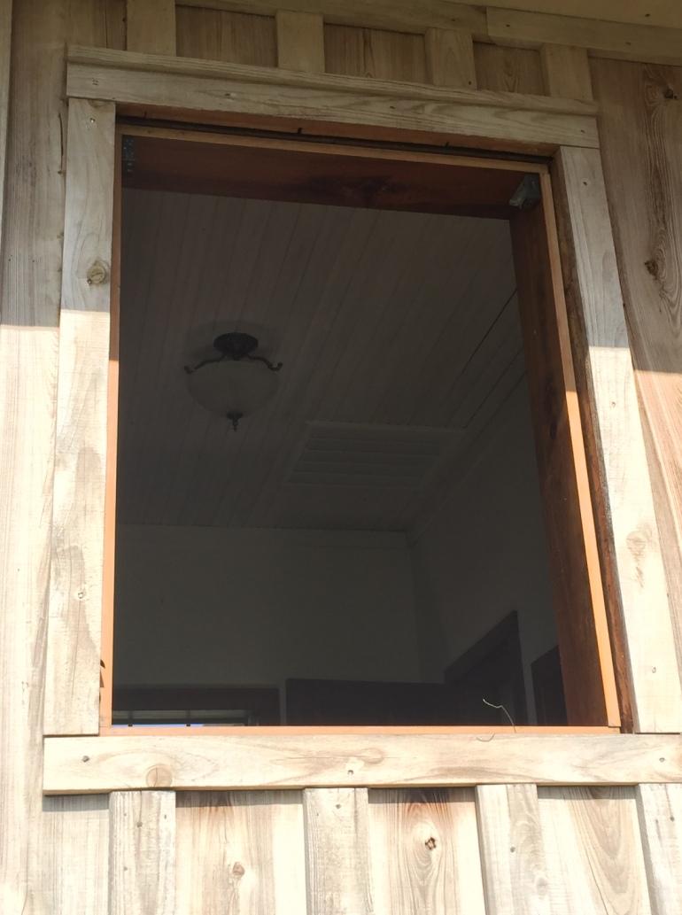 Tear Out Window