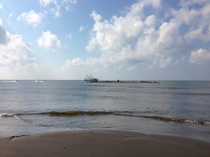 Shrimp Boat View - Grand Isle 2016