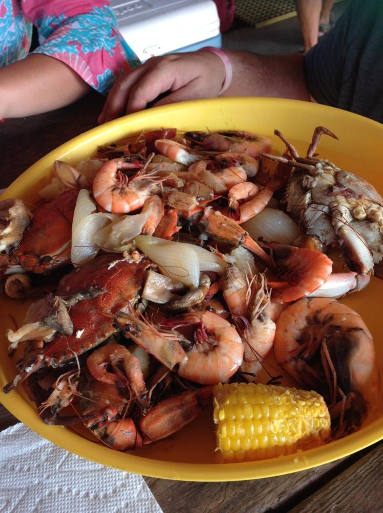 Shrimp & Crab Boil - Grand Isle 2016