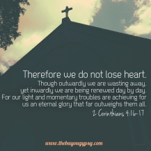 2 Corinthians 4:16-17
