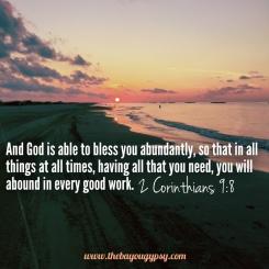 2 Corinthians 9:8