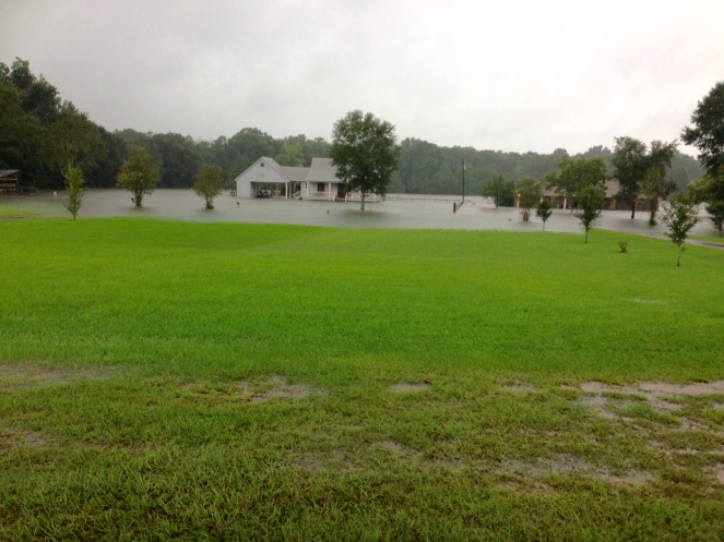 Flooded Front View