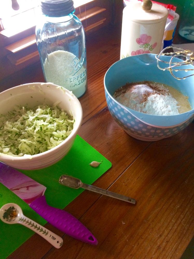 Zucchini Bread 2