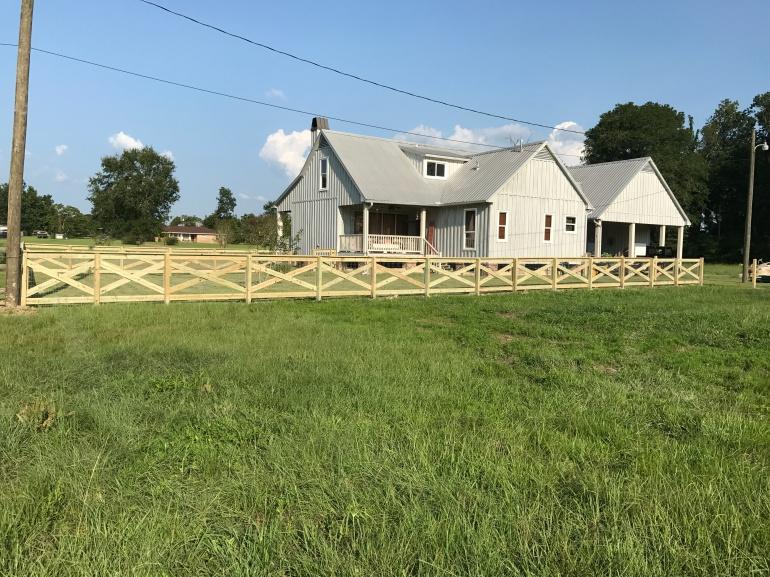 Day 3 Fence Progress 4