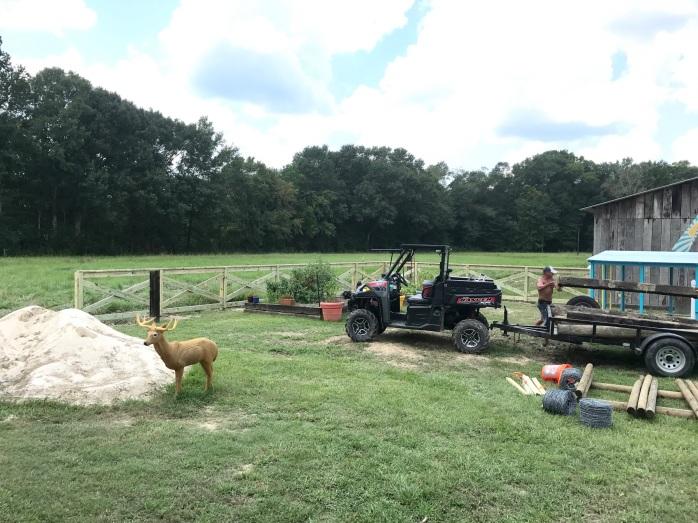 Day 4 Fence Progress 2