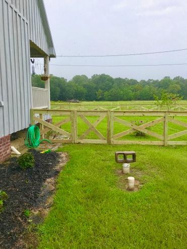 Day 5 Fence Progress 1