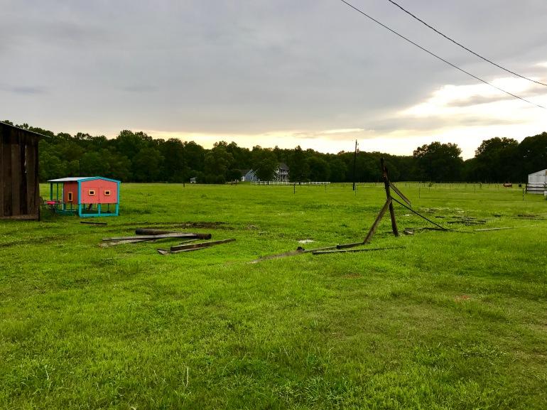 Fence and Tree Stump Demo 2