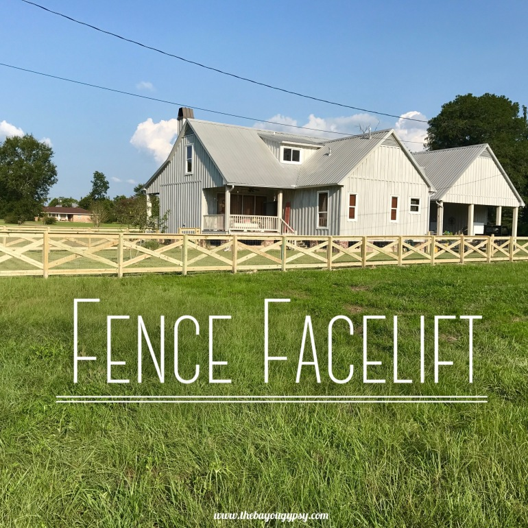 Fence Facelift Graphic