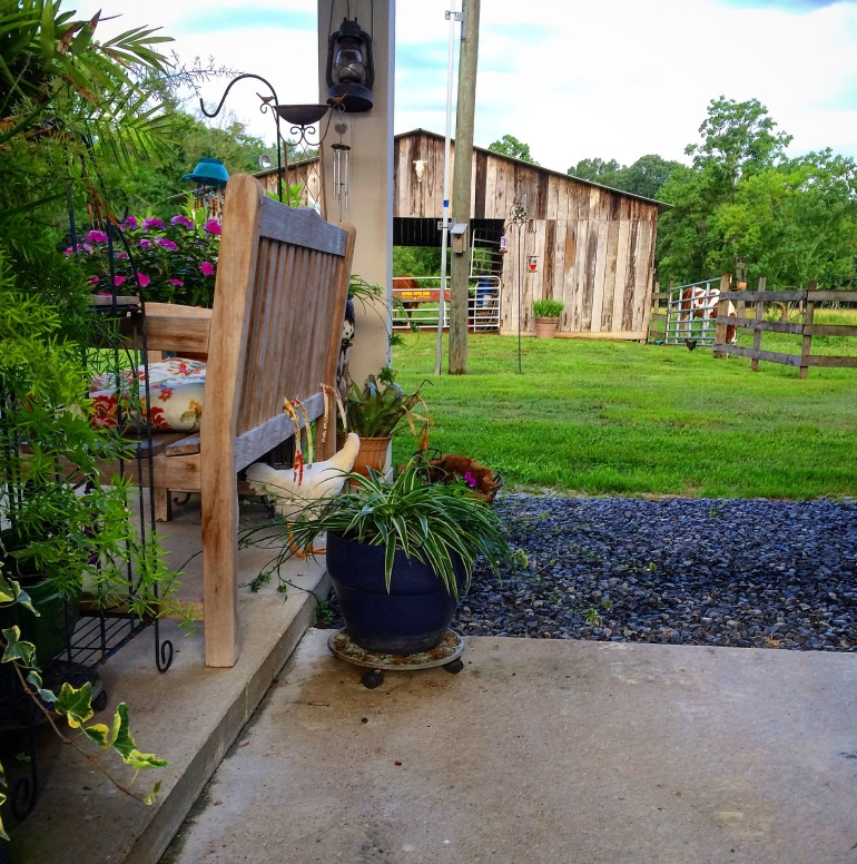 Spice Girl under Carport
