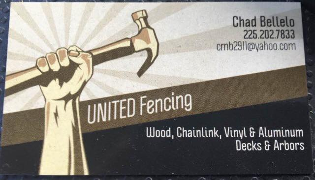 United Fencing Contact