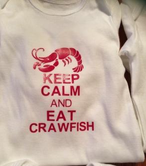 Keep Calm and Eat Crawfish