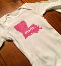 Louisiana Made - Hot Pink